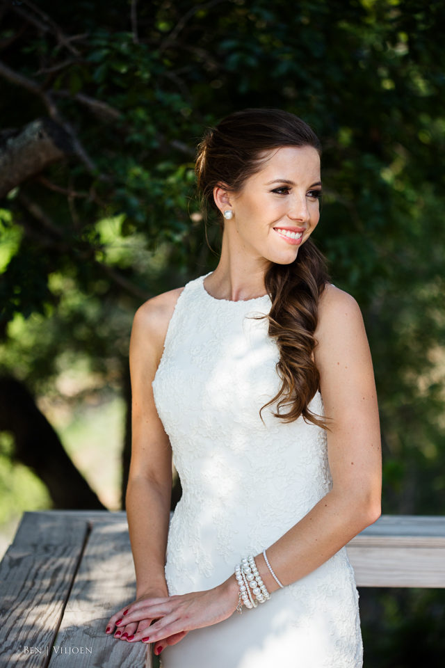 beautiful bushveld wedding bride