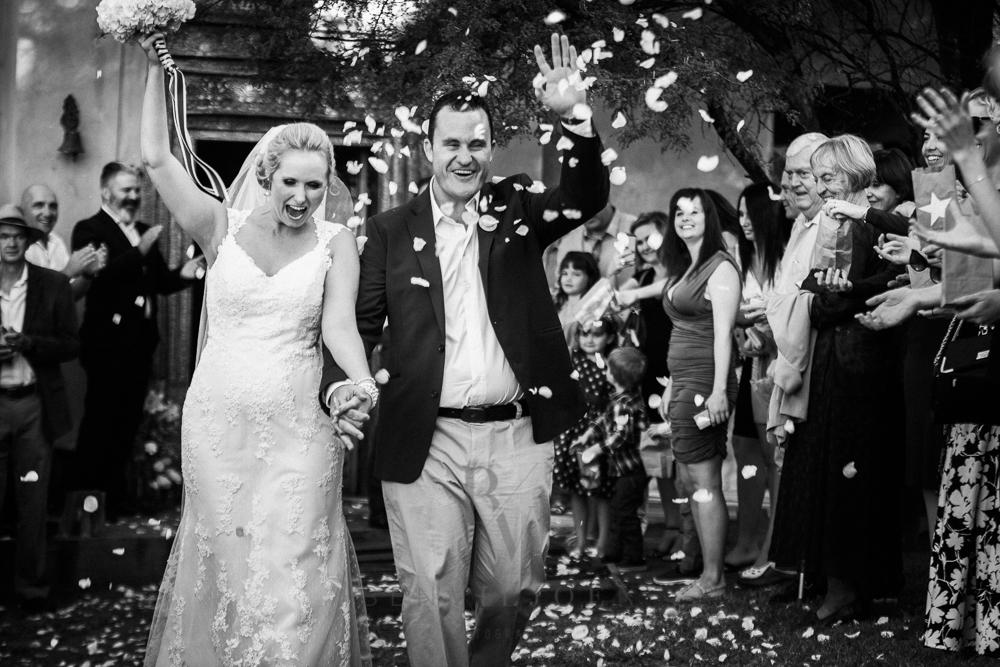 Confetti time, Free State weddings, Parys wedding photographer, The nutcracker wedding venue