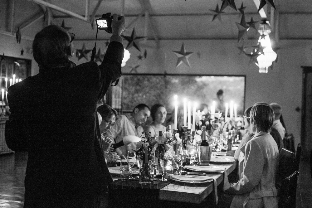 Guests at a wedding at The Nutcracker near Parys