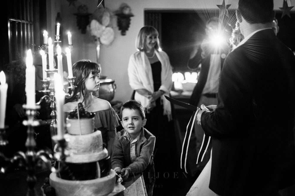 cutting the cake at The Nutcracker wedding Venue near Parys in the Free State