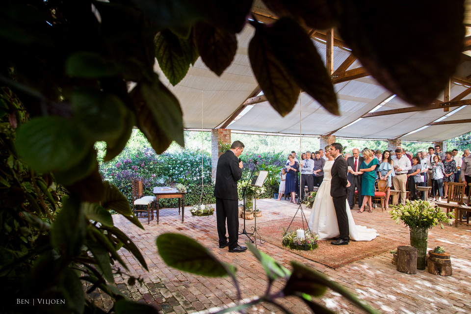 wedding ceremony plettenberg bay rose pavillion