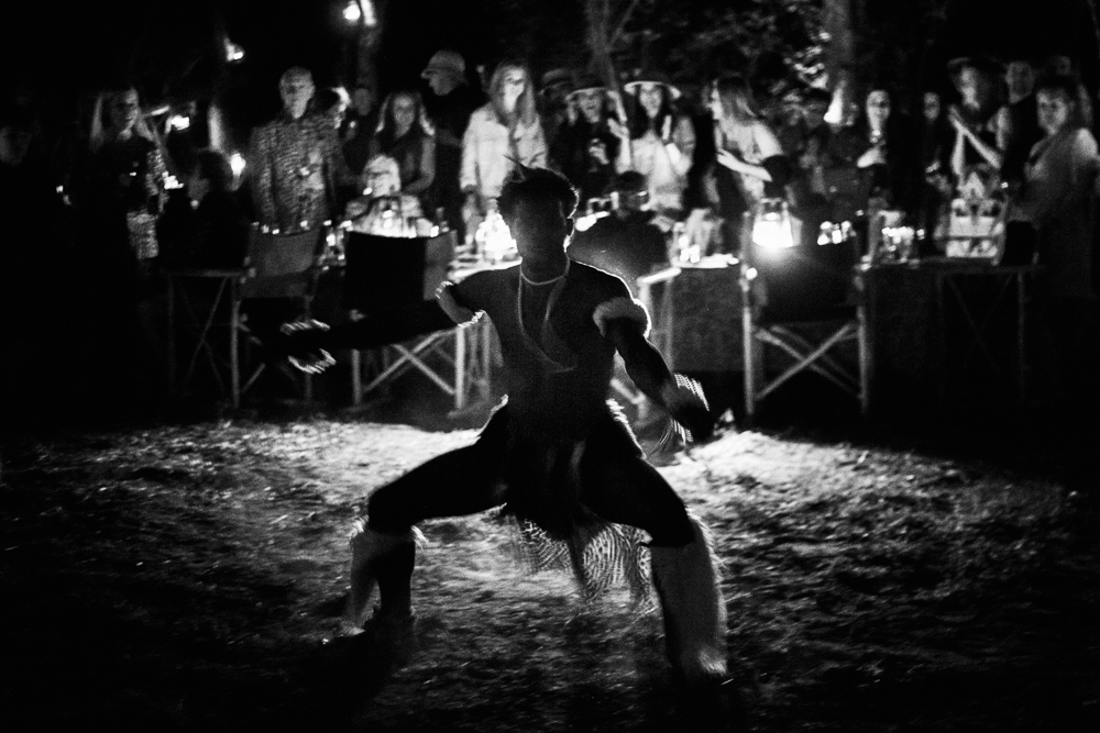 traditional african dancers at Thornybush