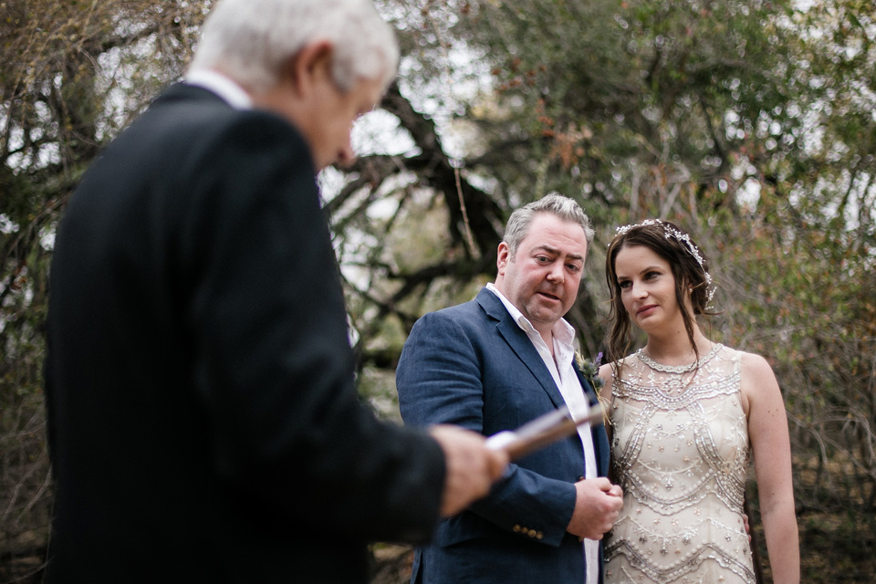 wedding ceremony, wedding vows in africa, Ulusaba wedding minister